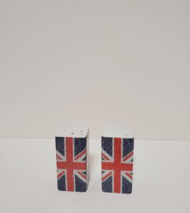 Union Jack Square Salt & Pepper Set